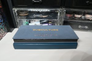 anastasia beverly hills subculture palette - Closed palette on box