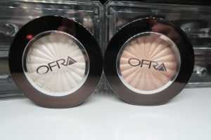 ofra glazed donut and glow goals highlighters