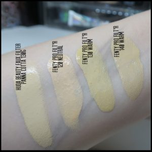 NEW Huda beauty Faux Filter Foundation – First Impressions ...