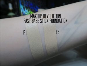 New Makeup Revolution Fast Base Foundation Stick First