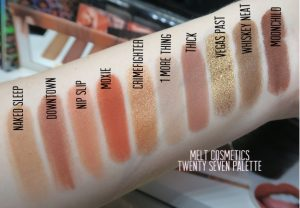 Melt Cosmetics Twenty Seven Palette – Review, Full Swatches ...